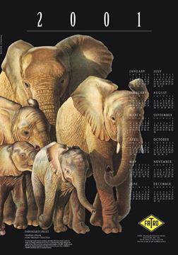 Imagen de Calendario 2001