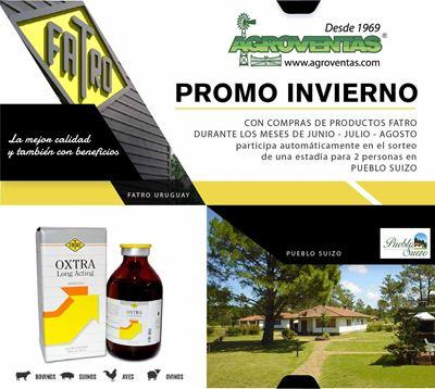 Ganador Promo Invierno FATRO - Agroventas